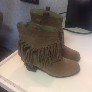 Sbicca Shoes - Suede booties